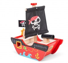 TV344 Little Captn Pirate Boat