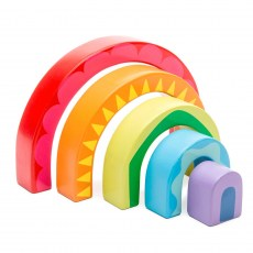 PL107-Rainbow-Tunnel-Toy-Le-Toy-Van-dreveny-duhovy-tunel